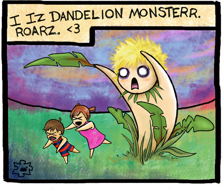 dandelion_monster_by_weirdalbatross.jpg